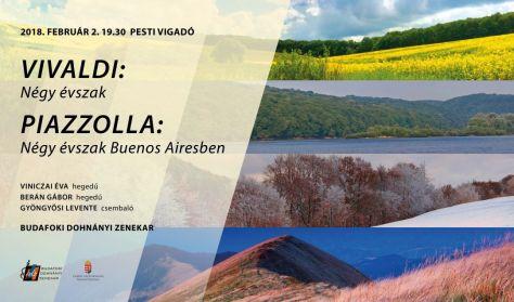 Budafoki Dohnányi Zenekar, Vivaldi: Négy Évszak, Piazzolla: Négy évszak Buenos Airesben
