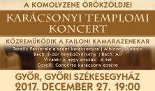 A komolyzene örökzöldjei - Karácsonyi Templomi koncert
