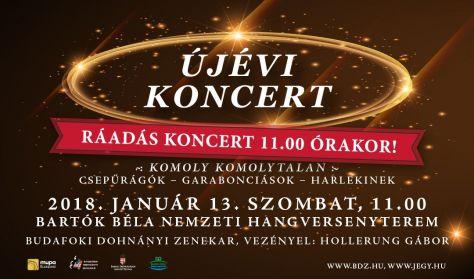 Újévi koncert, Ráadás hangverseny,  Budafoki Dohnányi Zenekar, Komoly komolytalanságok