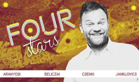 FOUR STARS - Aranyosi, Beliczai, Csenki, Janklovics, vendég: Ráskó Eszter