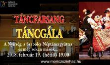 Táncfarsang 2018 - Táncgála - Nyíregyházi táncegyüttesek előadása