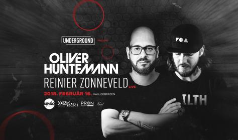 Unde?ground: Oliver Huntemann / Reinier Zonneveld 02.16.