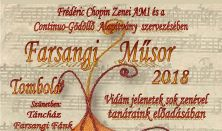 F. Chopin Zenei AMI tanárainak Farsangi Műsora