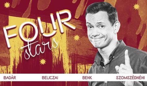 FOUR STARS - Badár, Beliczai, Benk, Szomszédnéni P.I, vendég: Musimbe Dávid Dennis