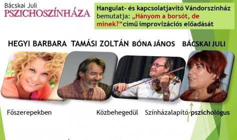 Hányom a borsót, de minek? Bácskai Juli Pszichoszínháza / Hegyi Barbara, Tamási Zoltán