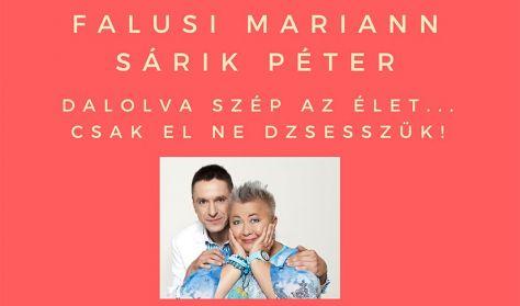 Falusi Mariann és Sárik Péter koncert a Katona Borháznál
