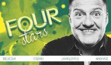 FOUR STARS - Beliczai, Csenki, Hadházi, Janklovics, vendég: Ács Fruzsi
