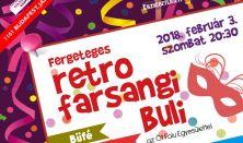 Retro Farsangi party -elővétel