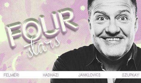 FOUR STARS - Felméri, Hadházi, Janklovics, Szupkay, vendég: Ács Fruzsina