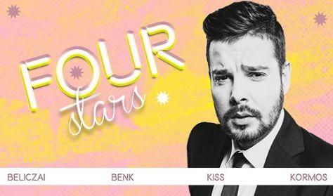 FOUR STARS - Beliczai, Benk, Kiss, Kormos, vendég: Szabó Balázs Máté