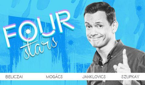 FOUR STARS - Beliczai, Mogács, Janklovics, Szupkay, vendég: Fülöp Viktor