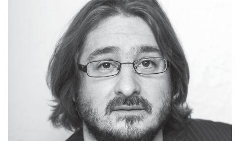 Irodalmi est Cserna-Szabó Andrással