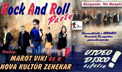 """Rock & Roll Party """"The Memphis"""" Vendég: Marót Viki"""