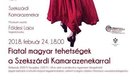 Fiatal magyar tehetségek a Szekszárdi Kamarazenekarral