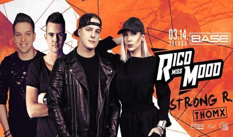 Rico & Miss Mood koncert - 03.14. szerda - Base Club Debrecen