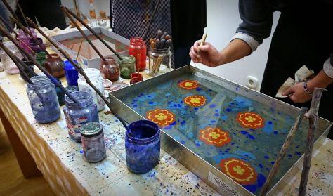 Alkotónap- Ebru, papírdíszítő művészet és henna festés