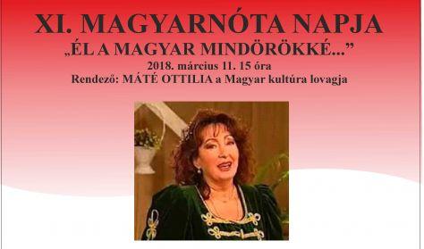 XI. Magyar nóta napja