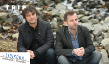 A TRIP bemutatja: Libikóka: Grecsó Krisztián és Hrutka Róbert zenés pódiumestje