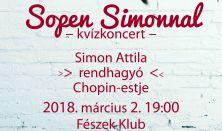 Simon Attila interaktív Chopin estje