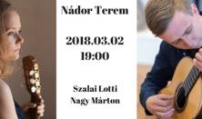 Szalai Lotti - Nagy Márton gitárestje