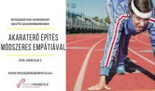 Akaraterő építés Psychophonetica™ és Módszeres Empátia módszerrel