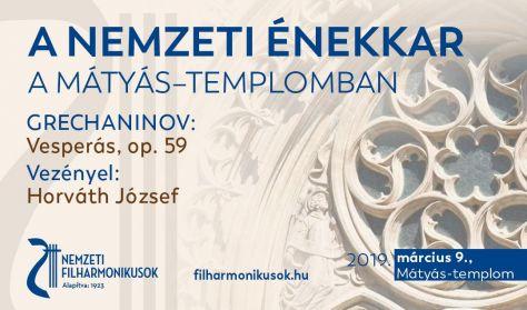 Grechaninov: Vesperás, op. 59 - vezényel: Horváth József