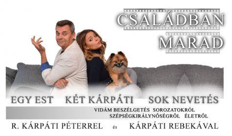 """R. Kárpáti Péter és Kárpáti Rebeka - """"Apa és lánya a tv-ről, színházról, életről"""""""