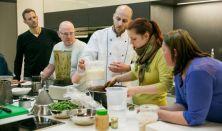 FŐZŐTANFOLYAM: Nyers vegán ételkészítő tanfolyam