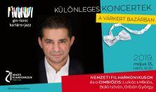 Gin-tonic Kortárs+Jazz bérlet 3. - Vendég: Lukács Miklós és a Cimbiózis Trió
