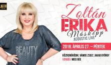 """Zoltán Erika """"Másképp"""" Acoustic live"""