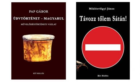 Pap Gábor és Miklósvölgyi János könyvbemutatói vetített képes előadással
