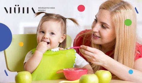 """Anyaidő - Zsibrita Kinga előadása """"Tápláljunk jól"""""""