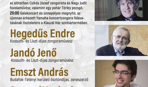 Hegedűs-Jandó-Emszt-Somogyi: Zongoraünnep
