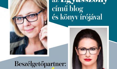 Irodalmi est Péterfy-Novák Évával