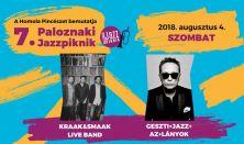 Paloznaki Jazzpiknik / Napijegy, szombat - Aug. 4.