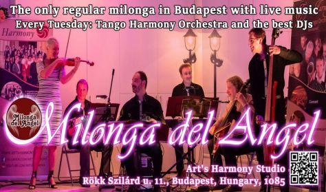 Élőzenés Milonga del Angel - Szeptember
