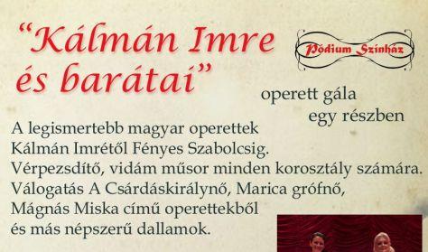"""""""Kálmán Imre és barátai""""- operett gála"""