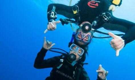 Próbáld ki a búvárkodást az AquaWorld-ben