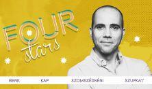 FOUR STARS - Beliczai, Csenki, Kap, Szupkay, vendég: Lakatos László
