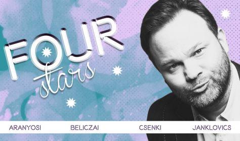 FOUR STARS - Aranyosi, Beliczai, Csenki, Janklovics, vendég: Elek Péter