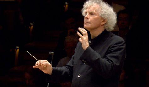 A Berlini Filharmonikusok koncertje: Sir Simon Rattle búcsúhangversenye