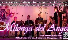 Élőzenés Milonga del Angel - Augusztus