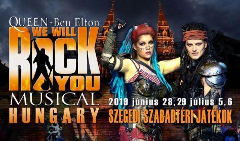 Queen-Ben Elton: WE WILL ROCK YOU