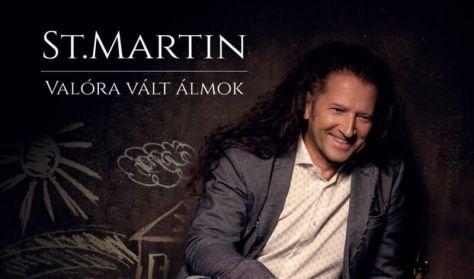 Valóra Vált Álmok | St.Martin legújabb lemezének bemutatója