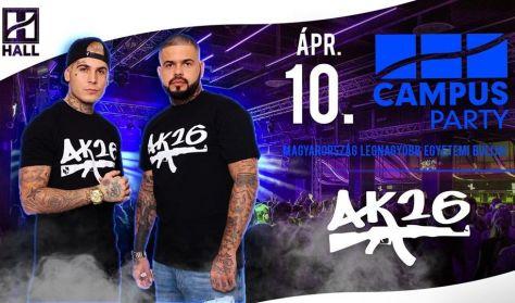CAMPUS Party - AK26//DE hallgatói