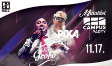 CAMPUS Party - Kis Grófo, Pixa