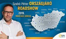 Szabó Péter Országjáró Roadshow 2019