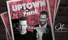 Koncert + Tapas tál - Uptown Funk koncert – Bebe, Pély Barna