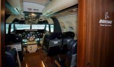 Szigetugrás - Boeing szimulátor 40 perc