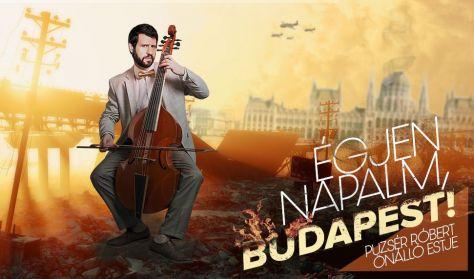 Égjen napalm, Budapest! - Puzsér Róbert önálló estje